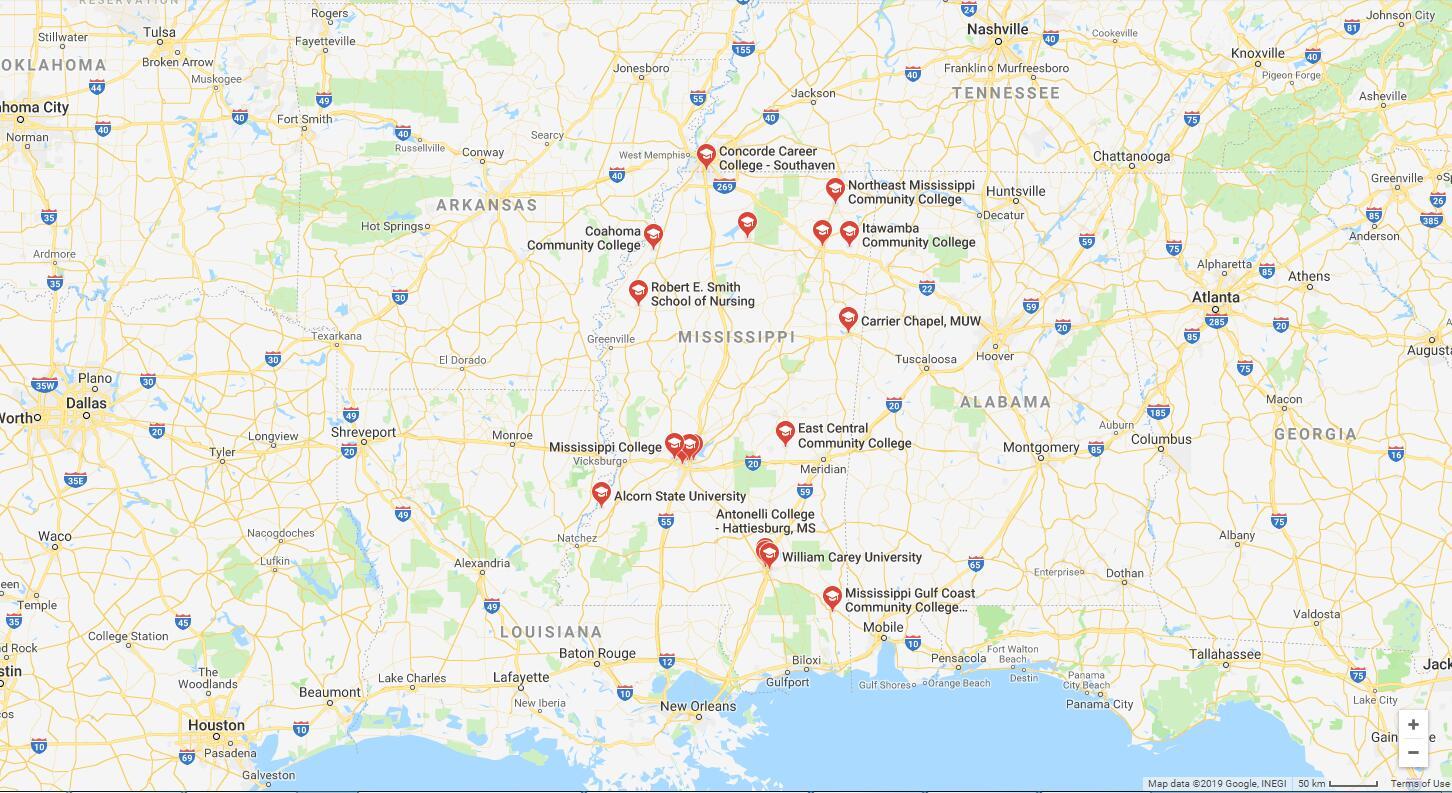 Top Nursing Schools in Mississippi