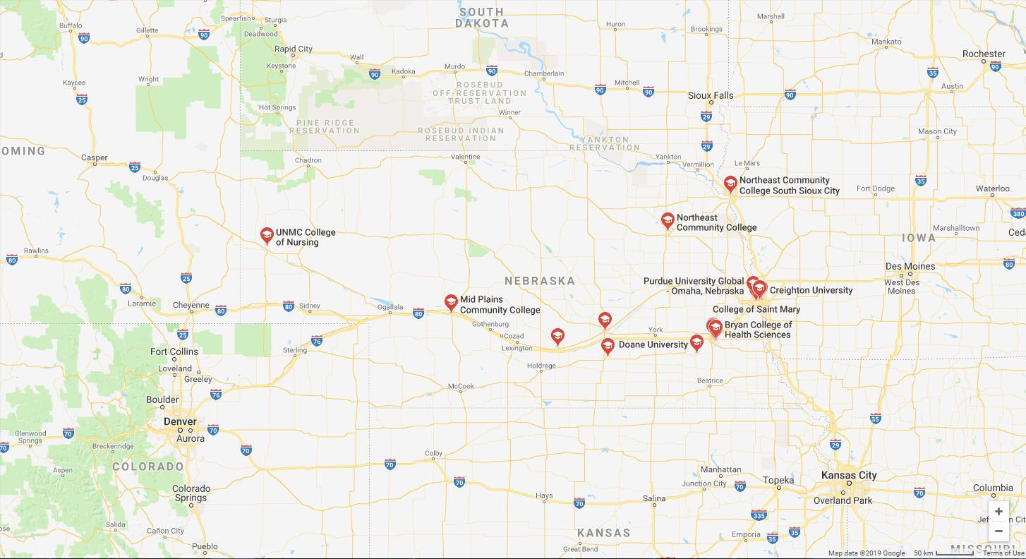Top Nursing Schools in Nebraska