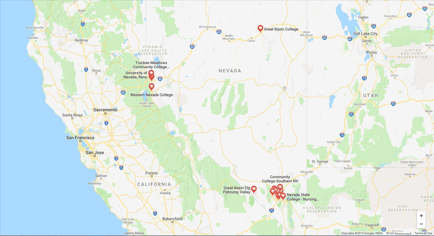 Top Nursing Schools in Nevada