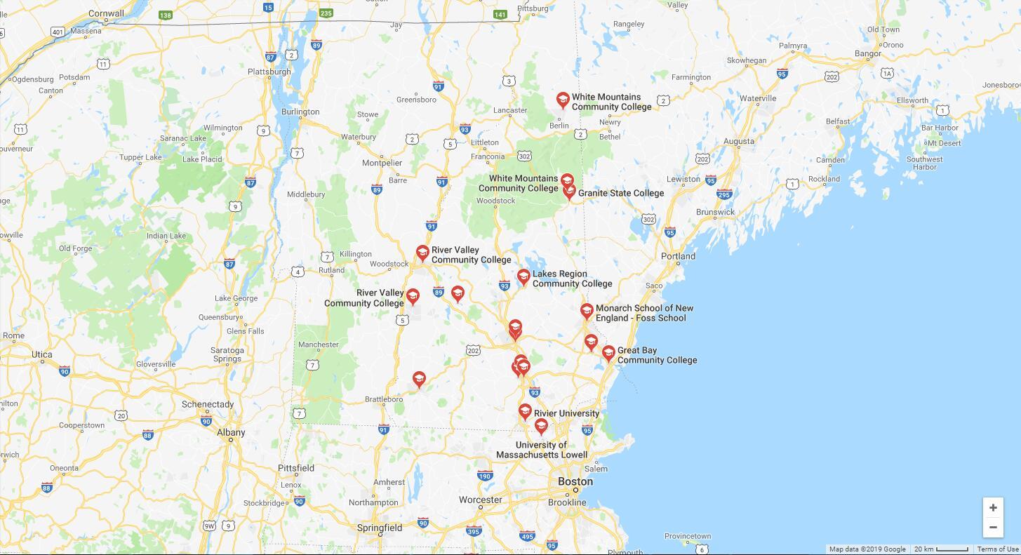 Top Nursing Schools in New Hampshire