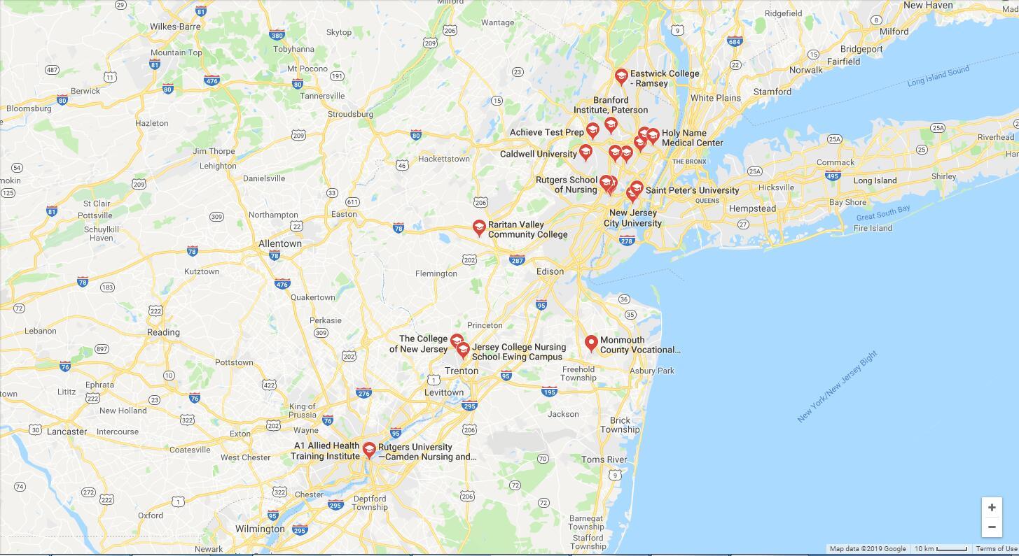 Top Nursing Schools in New Jersey