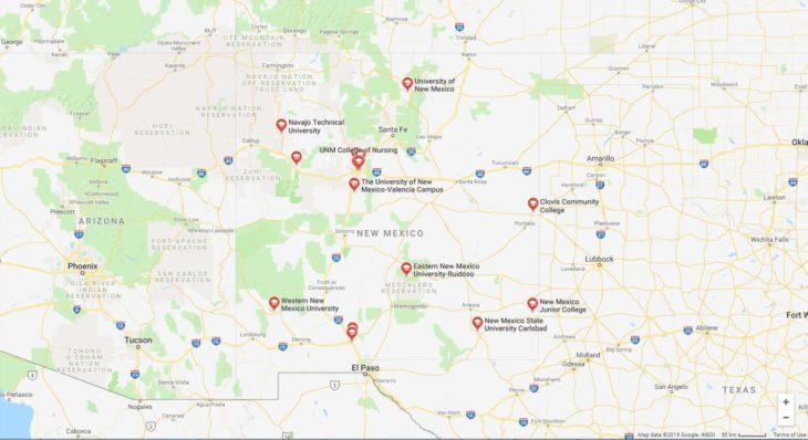 Top Nursing Schools in New Mexico