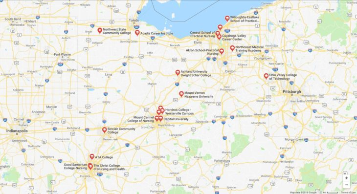 Top Nursing Schools in Ohio