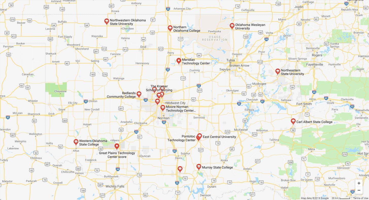 Top Nursing Schools in Oklahoma