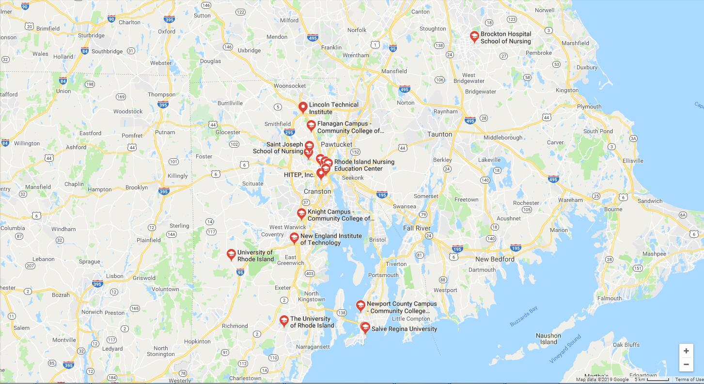 Top Nursing Schools in Rhode Island