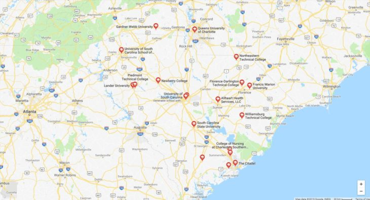 Top Nursing Schools in South Carolina 2019