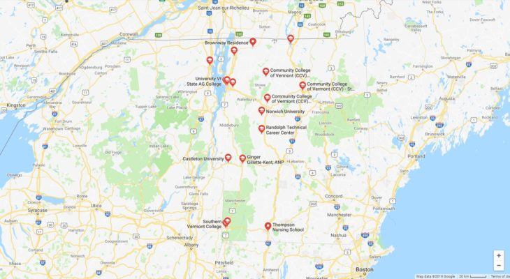 Top Nursing Schools in Vermont 2019