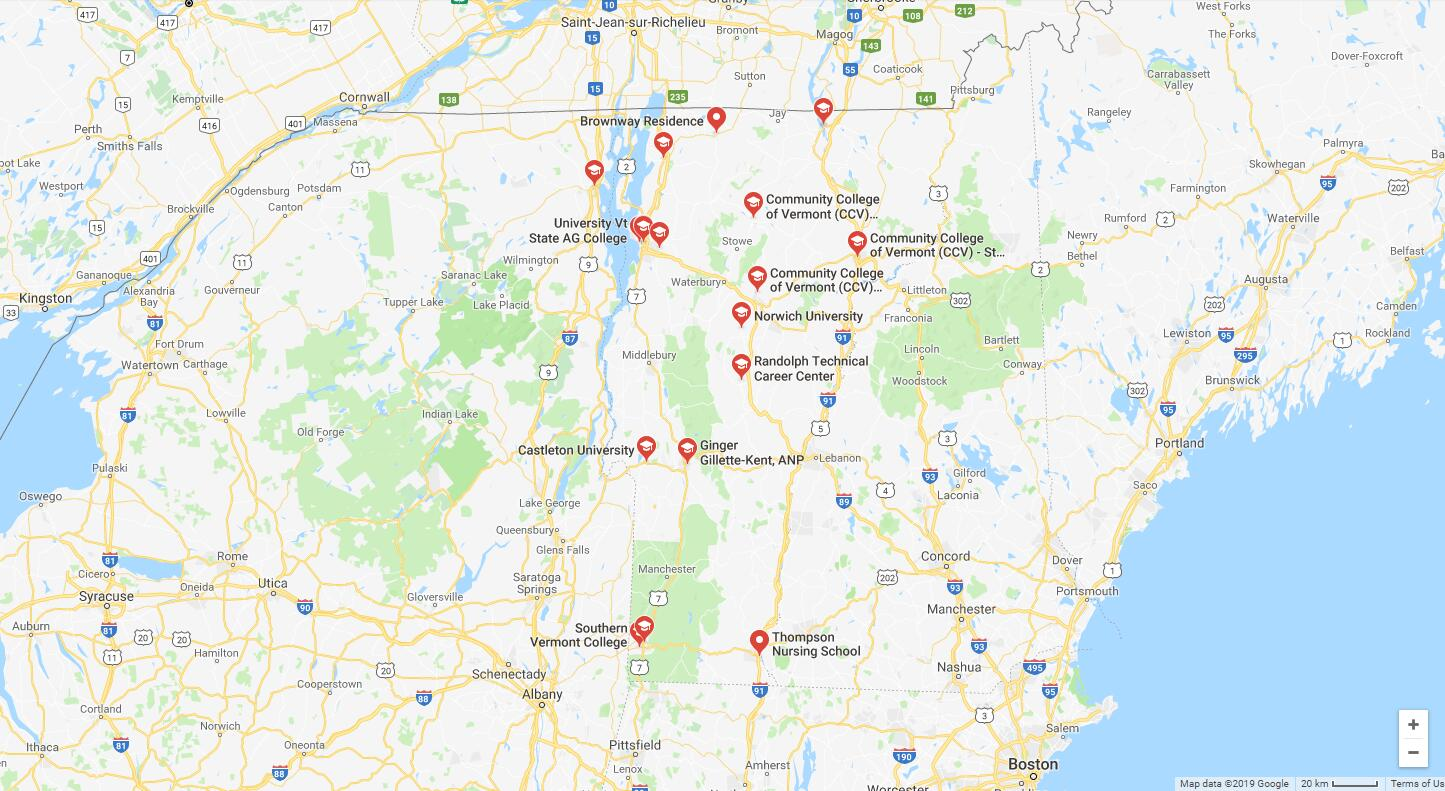 Top Nursing Schools in Vermont