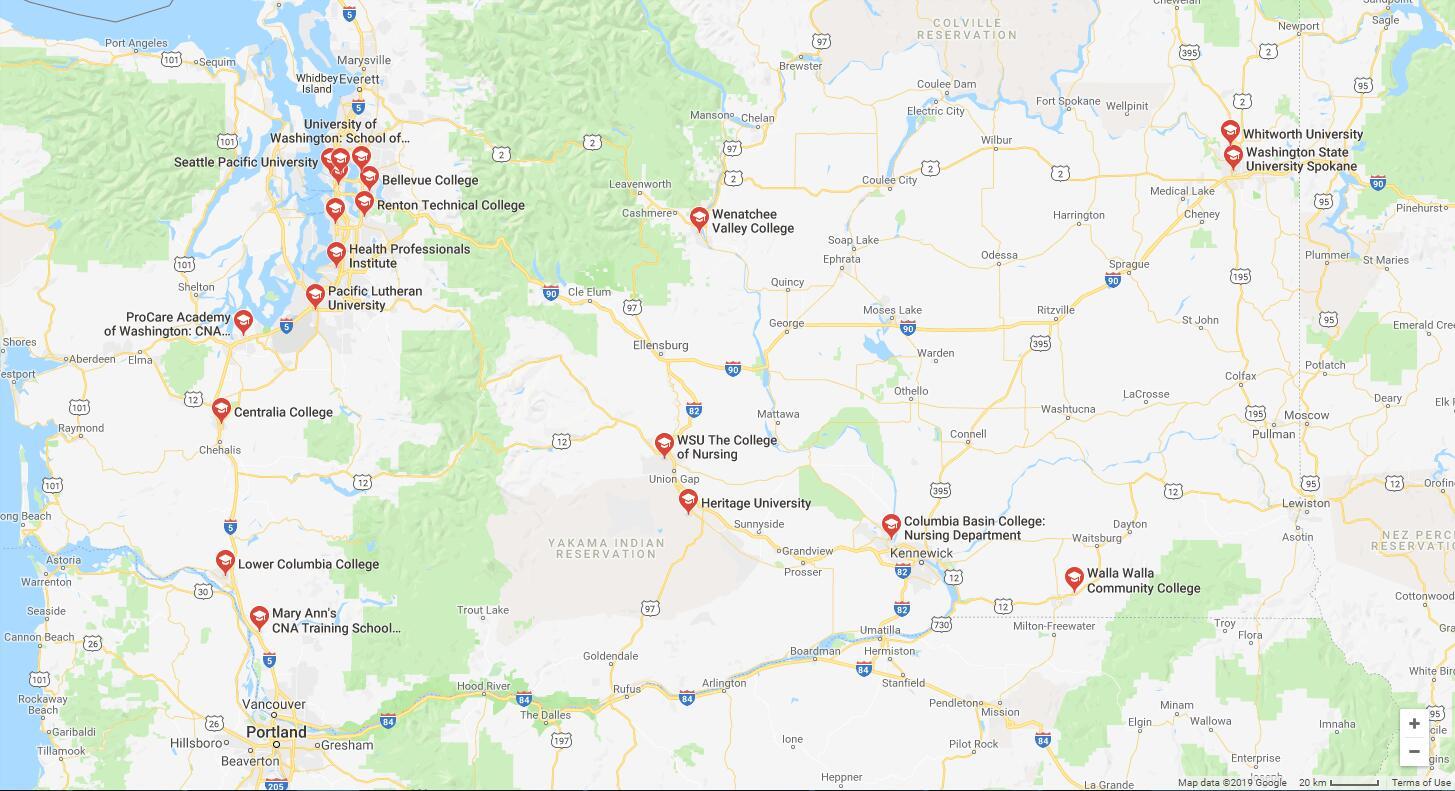 Top Nursing Schools in Washington