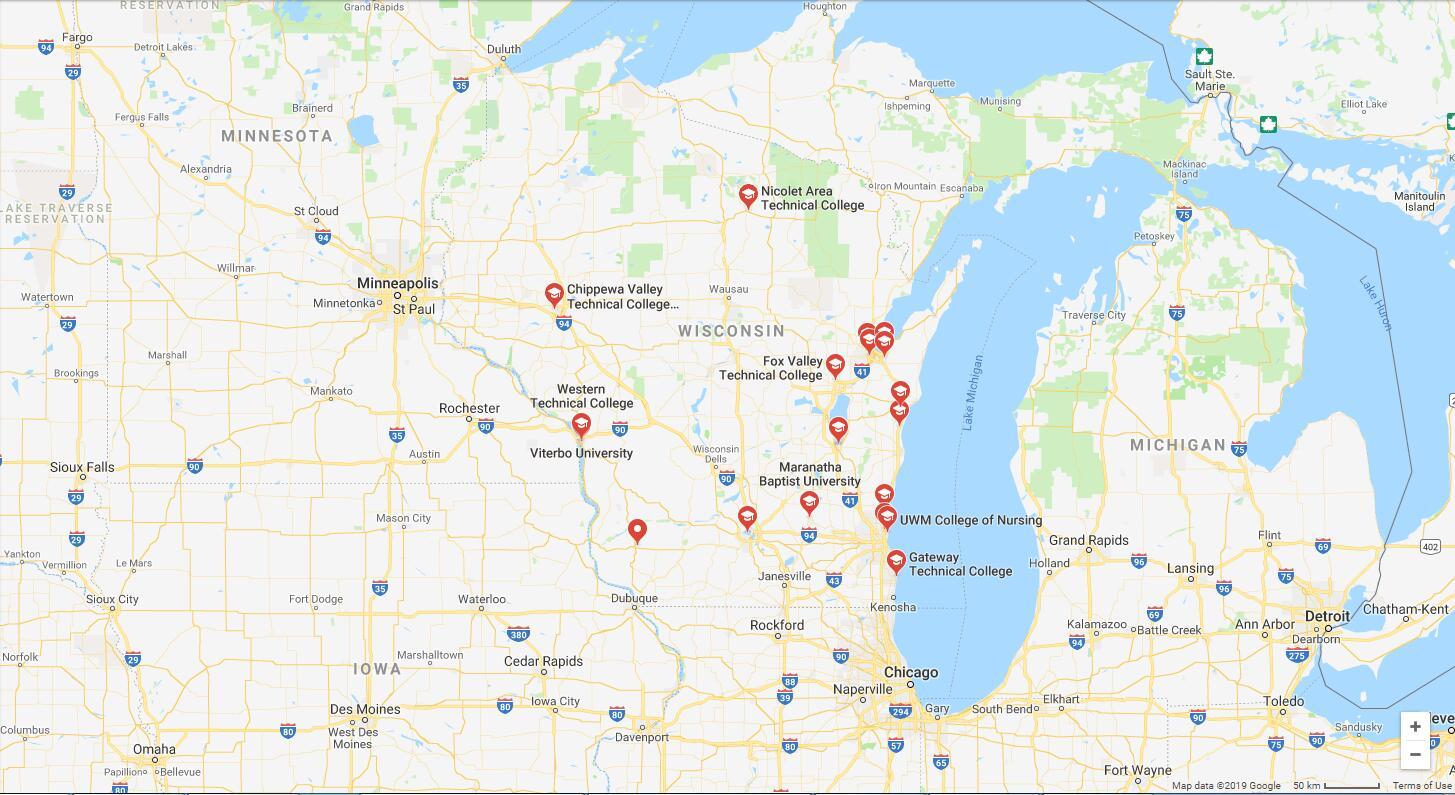 Top Nursing Schools in Wisconsin