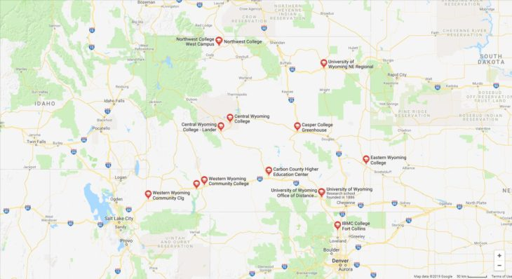 Top Nursing Schools in Wyoming
