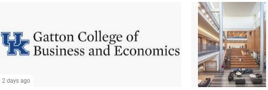 University of Kentucky Business School