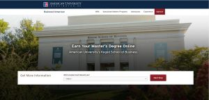 American University (Kogod) Part Time MBA
