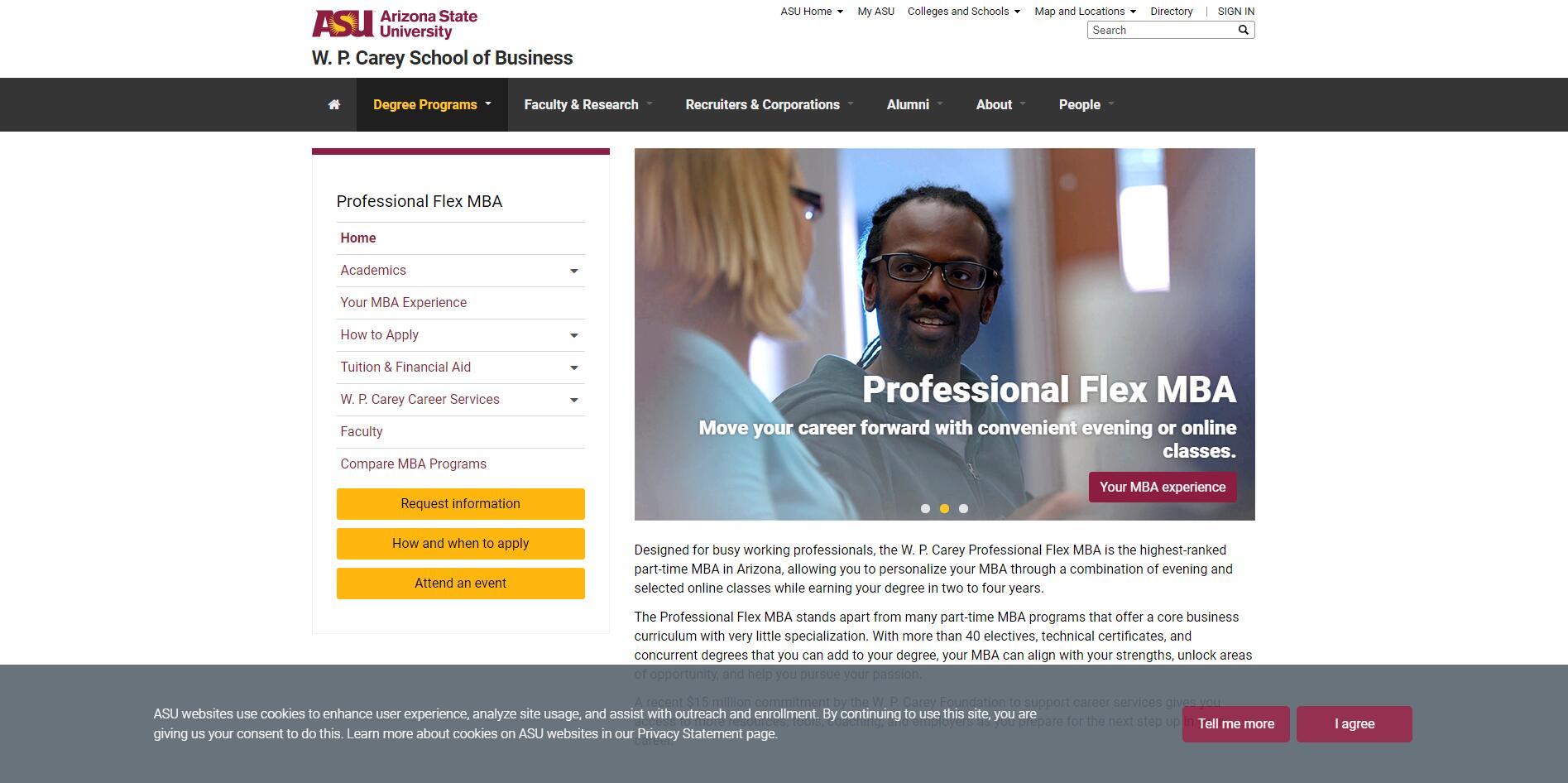 Top Part-time MBA Programs in Arizona