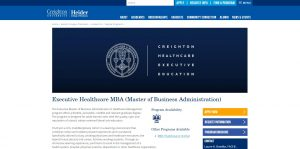 Creighton University Part Time MBA