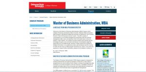 Delaware State University Part Time MBA