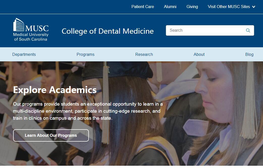Dental Schools in South Carolina