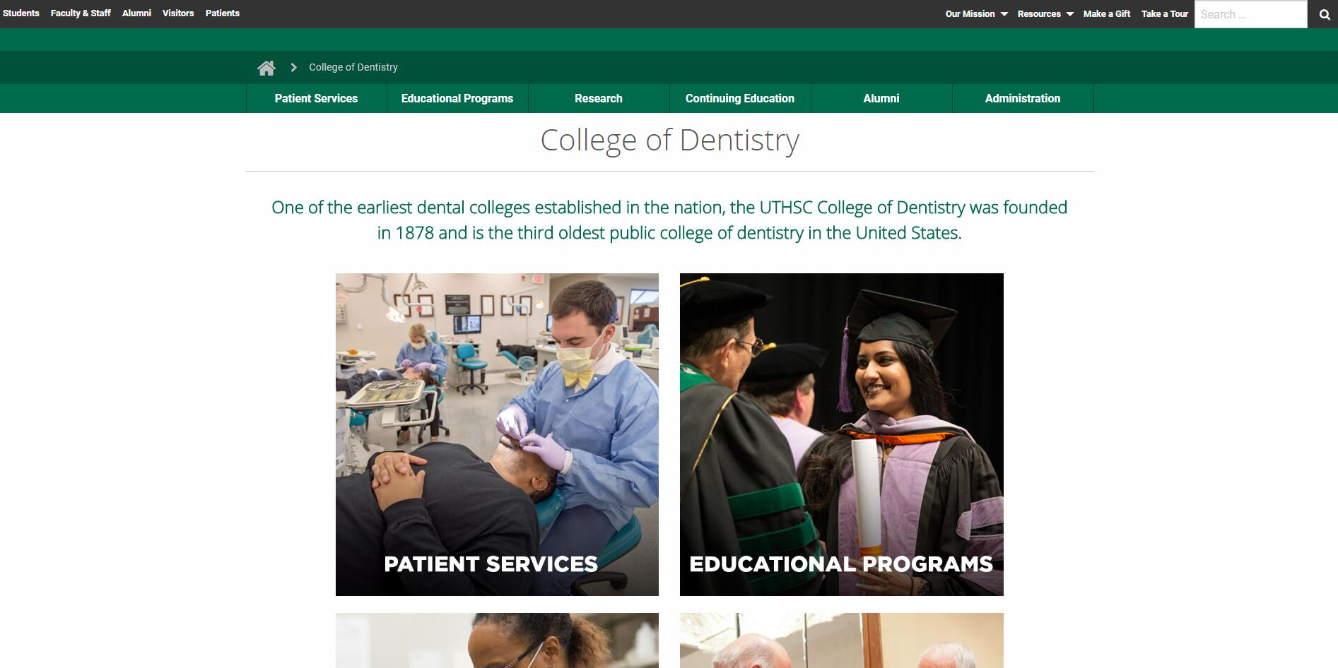 Dental Schools in Tennessee