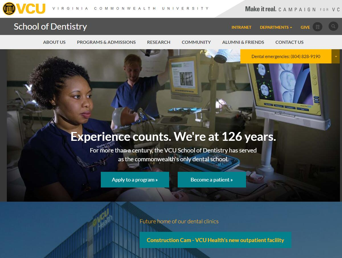 Dental Schools in Virginia