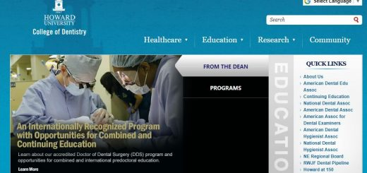 Dental Schools in Washington DC