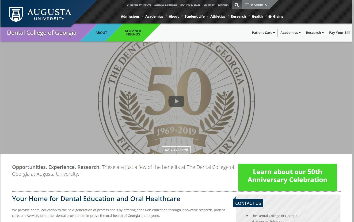 Dental Schools in Georgia