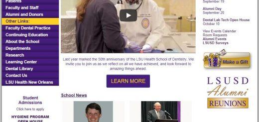 Louisiana State University School of Dentistry