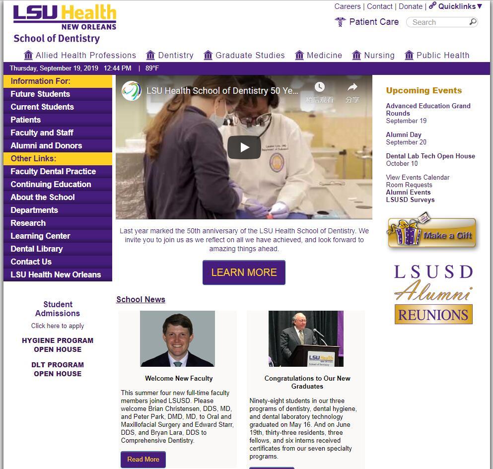Louisiana State University School of Dentistry