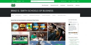 Marshall University (Lewis) Part Time MBA