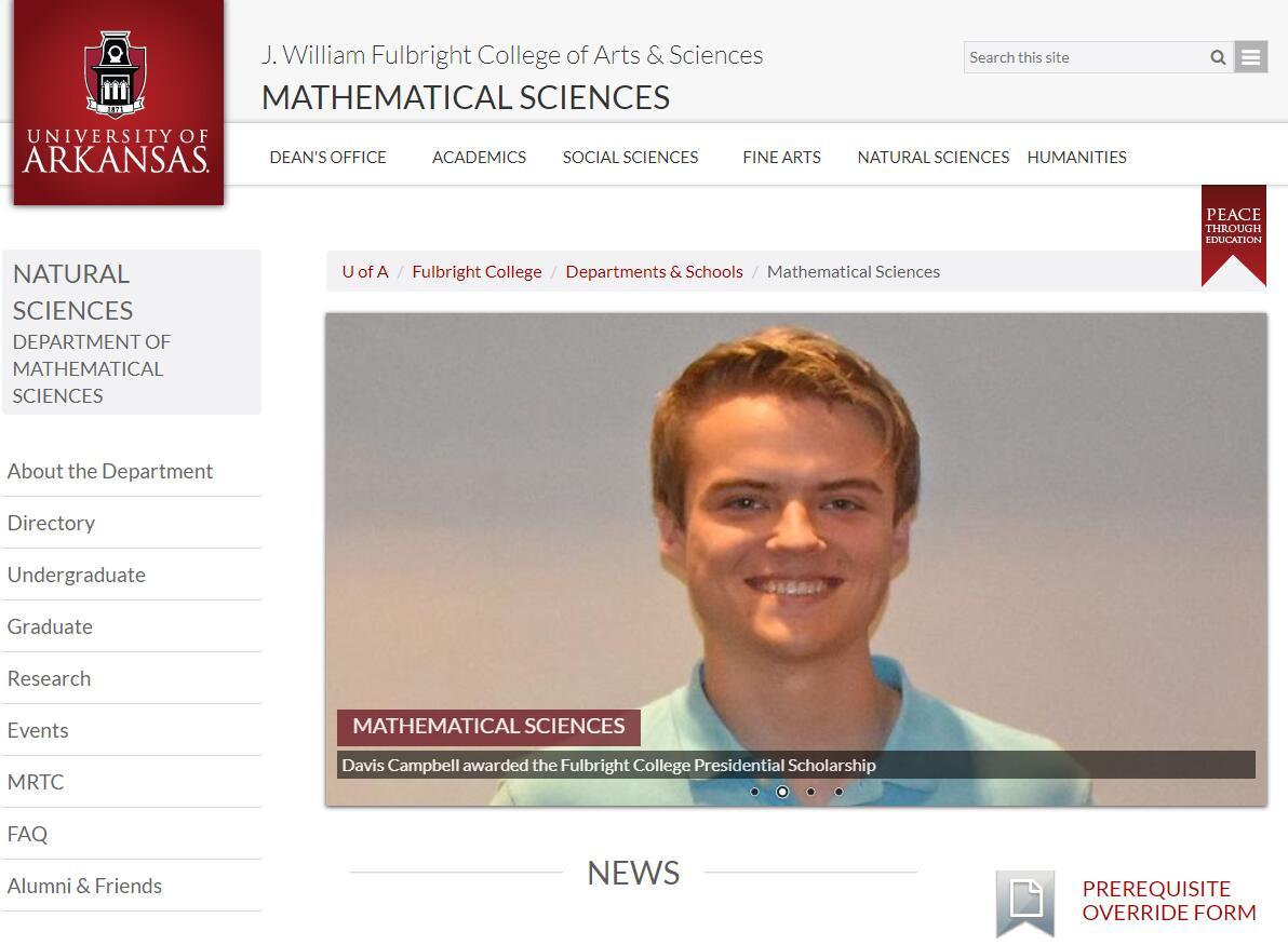 Top Math Schools in Arkansas