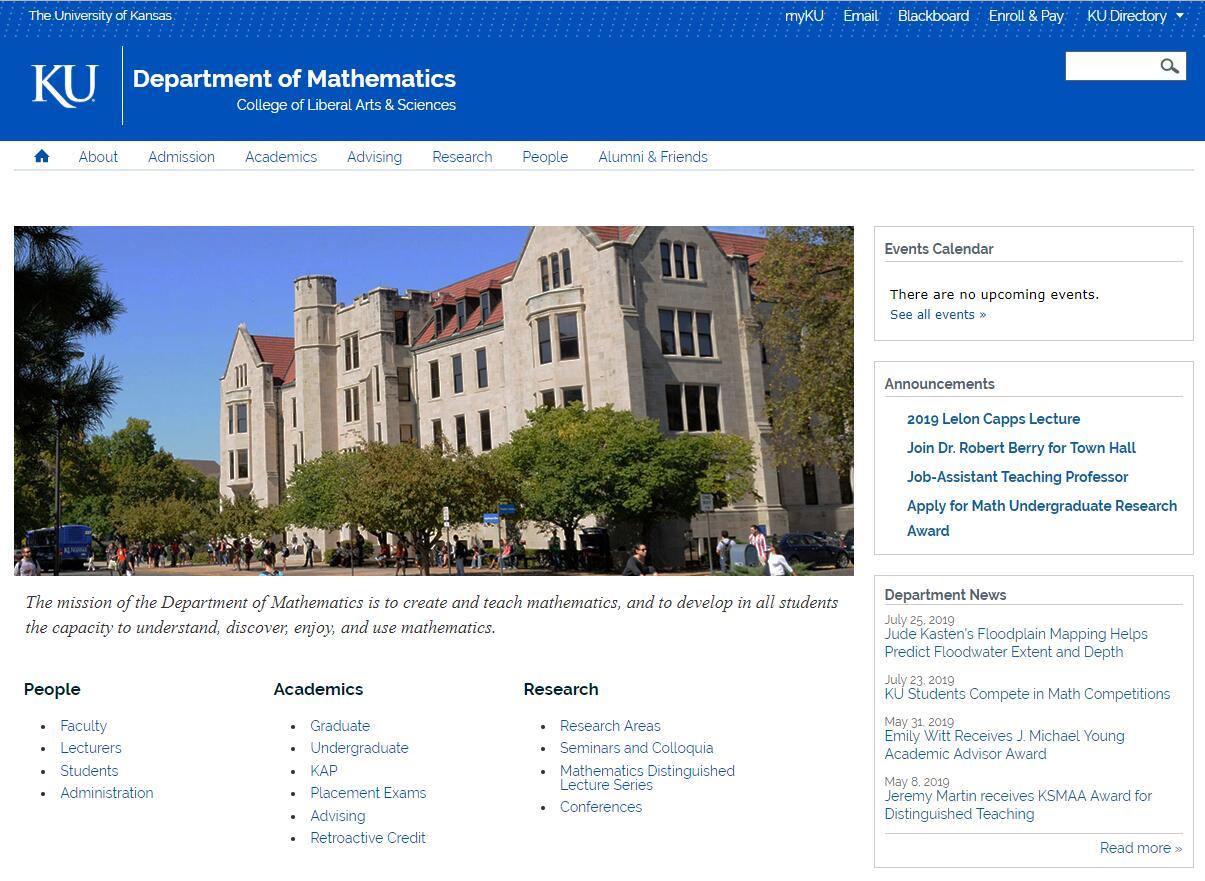 Top Math Schools in Kansas