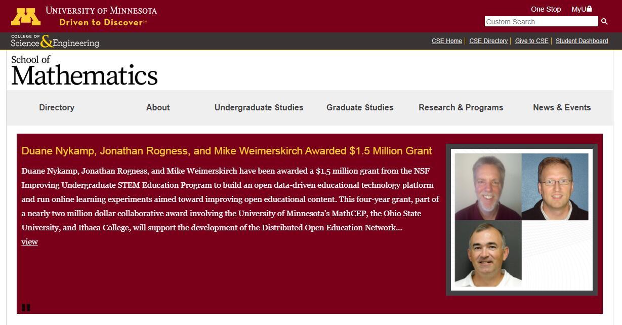 Top Math Schools in Minnesota