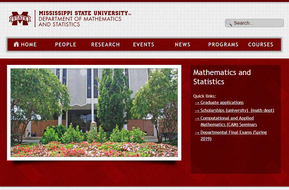 Top Math Schools in Mississippi