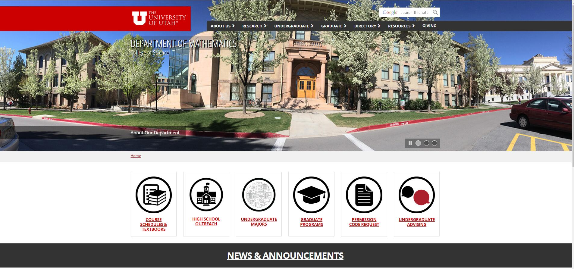 Top Math Schools in Utah