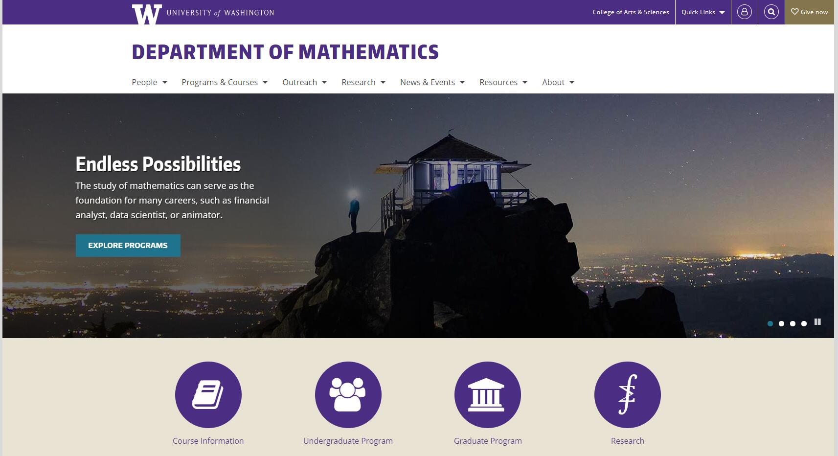 Top Math Schools in Washington