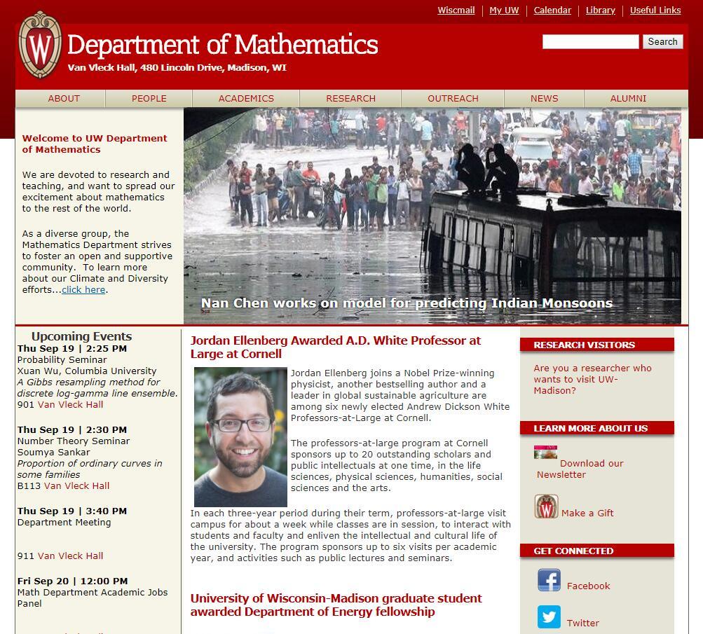Top Math Schools in Wisconsin
