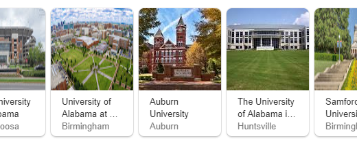 Top Universities in Alabama