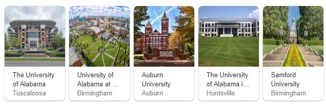 Top Universities in Alabama