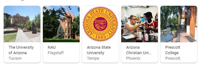 Top Universities in Arizona