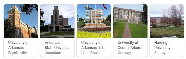Top Universities in Arkansas