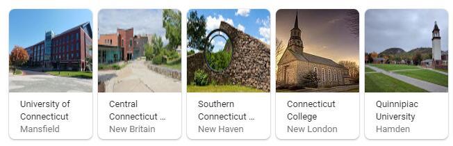 Top Universities in Connecticut