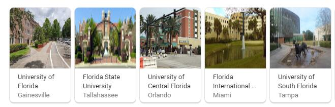 Top Universities in Florida