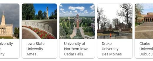 Top Universities in Iowa