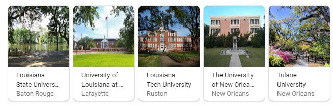Top Universities in Louisiana