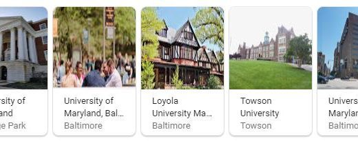 Top Universities in Maryland