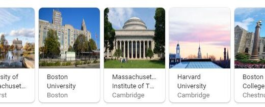 Top Universities in Massachusetts