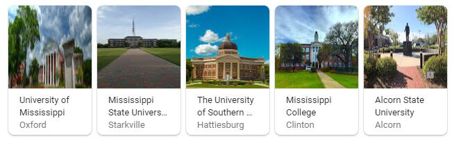 Top Universities in Mississippi