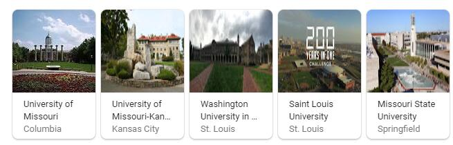 Top Universities in Missouri