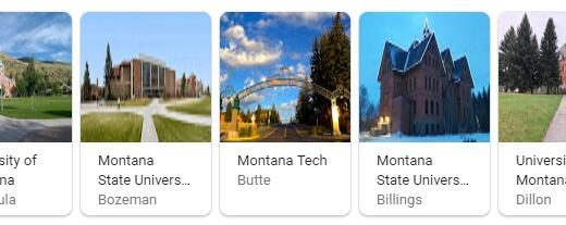Top Universities in Montana