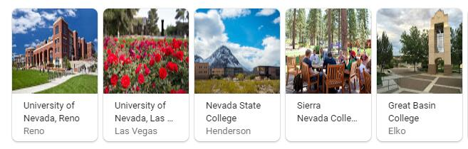 Top Universities in Nevada