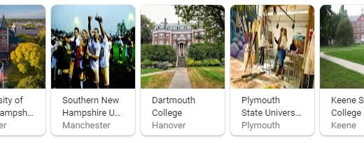 Top Universities in New Hampshire